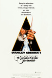 A CLOCKWORK ORANGE  Malcolm McDowell on insert poster  1971