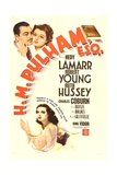 HM PULHAM  ESQ  top from left: Robert Young  Hedy Lamarr  bottom: Ruth Hussey  1941