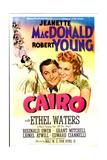 CAIRO  US poster  Robert Young  Jeanette MacDonald  1942