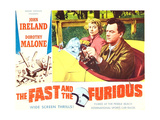 THE FAST AND THE FURIOUS  Dorothy Malone  John Ireland  1955