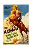 LAWLESS RIDERS  Ken Maynard  1935