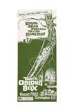 THE OBLONG BOX  insert poster  1969