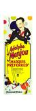 MARQUIS PREFERRED  Adolphe Menjou  1929