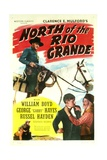 NORTH OF THE RIO GRANDE  top: William Boyd  bottom right: George 'Gabby' Hayes  1937