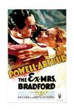 THE EX-MRS BRADFORD  US poster art  from left: William Powell  Jean Arthur  1936