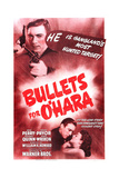 BULLETS FOR O'HARA  top left: Anthony Quinn  bottom from left: Anthony Quinn  Joan Perry  1941