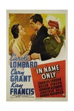 IN NAME ONLY  from left: Kay Francis  Cary Grant  Carole Lombard  1939