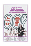 DR NO (and FROM RUSSIA WITH LOVE)  US poster  Sean Connery  1962/1963