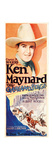 THE OVERLAND STAGE  Ken Maynard  1927