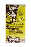 TARZAN  THE APE MAN  top from left: Maureen O'Sullivan  Johnny Weissmuller  1932