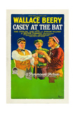 CASEY AT THE BAT  right: Wallace Beery  1927