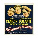 THE PASSIONATE PLUMBER  from left: Buster Keaton  Polly Moran  Jimmy Durante  1932