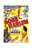GONE HARLEM  bottom right: Ethel Moses  1938
