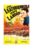 THE LEATHERNECKS HAVE LANDED  US poster art  from top: Lew Ayres  Isabel Jewell  1936