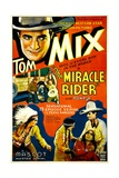THE MIRACLE RIDER  top left and bottom far right: Tom Mix  1935