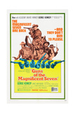 GUNS OF THE MAGNIFICENT SEVEN  US poster  George Kennedy (top)  1969