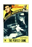 MYSTERY MOUNTAIN  top left: Ken Maynard in 'Chapter 6: The Perfect Crime'  1934