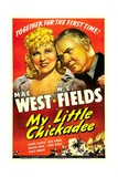 MY LITTLE CHICKADEE  from left: Mae West  WC Fields  1940