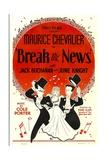Break The News  Maurice Chevalier  June Knight  Jack Buchanan  1938