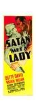 SATAN MET A LADY  from left: Bette Davis  Warren William  1936