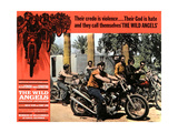 THE WILD ANGELS  Peter Fonda (second from right)  1966