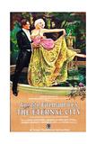 THE ETERNAL CITY  l-r: Barbara La Marr  Lionel Barrymore on poster art  1923