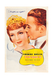 TOVARICH  l-r: Claudette Colbert  Charles Boyer on poster art  1937
