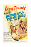 MARRIAGE IS A PRIVATE AFFAIR  Lana Turner  1944