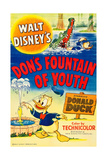 DON'S FOUNTAIN OF YOUTH  top right and bottom: Donald Duck  1953