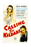 CALLING DR KILDARE  from left on US poster art: Laraine Day  Lew Ayres  1939