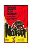 MOTHRA  poster art  1961