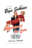 APPOINTMENT FOR LOVE  US poster  Charles Boyer  Margaret Sullavan  1941