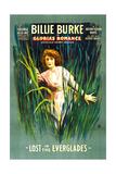 GLORIA'S ROMANCE  Billie Burke in 'Lost In the Everglades'  1-sheet poster art  1916
