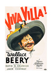 VIVA VILLA!  Wallace Beery on poster art  1934