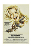 THE SUGARLAND EXPRESS  British poster  Goldie Hawn  1974