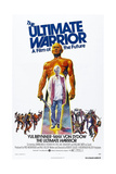 THE ULTIMATE WARRIOR  US poster  Yul Brynner  Max Von Sydow (inset)  1975