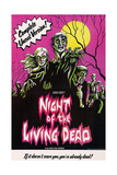 NIGHT OF THE LIVING DEAD  US poster art  1968