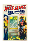 DAYS OF JESSE JAMES  left: Roy Rogers  1939