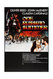 FURY  (aka ONE RUSSIAN SUMMER)  US poster  bottom right: Claudia Cardinale  Oliver Reed  1973