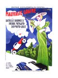 MAUVAISE GRAINE  (aka BAD SEED  aka BAD BLOOD)  French poster art  Danielle Darrieux  1934