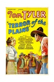 TERROR OF THE PLAINS  left: Roberta Gale  right: Tom Tyler  1934