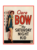 THE SATURDAY NIGHT KID  Clara Bow on US poster art  1929