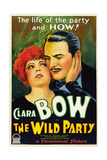 THE WILD PARTY  from left: Clara Bow  Fredric March  1929