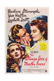 THE STRANGE LOVE OF MARTHA IVERS  Barbara Stanwyck  Van Heflin  Lizabeth Scott  1946