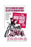 THE MINI-SKIRT MOB  Diane McBain (on motorcycle)  1968