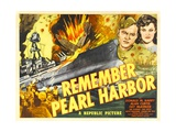 REMEMBER PEARL HARBOR  from left: Donald M Barry  Fay McKenzie  1942