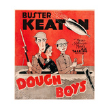 DOUGHBOYS  US poster art  from left: Buster Keaton  Sally Eilers  Cliff Edwards  1930