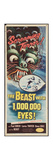THE BEAST WITH A MILLION EYES  insert poster  1955