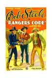 RANGER'S CODE  left: Bob Steele  1933