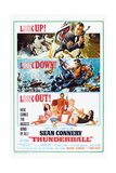 Thunderball  US poster  Sean Connery  1965